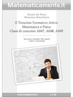 TFA Matematica e Fisica (ebook)