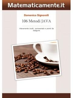 106 Metodi JAVA (ebook)
